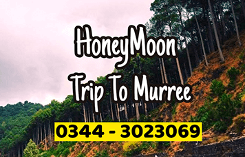 Hooneymoon trip to murree