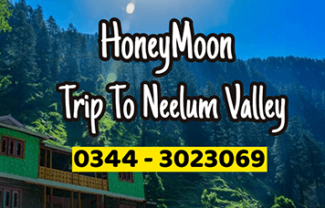 honeymoon trip to neelum valley