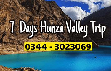 hunza valley tour package